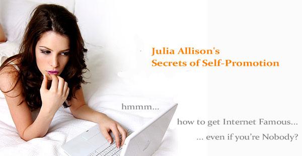 Julia Allisons Secrets of Self Promotion