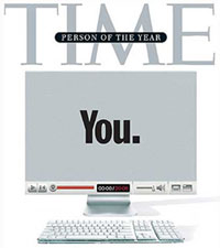 "Person of the year ""You."""