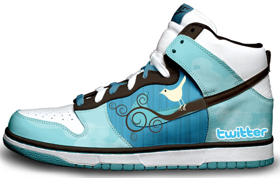 Twitter shoes - shoes for tweeters